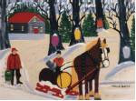 Maud Lewis Sugaring Off