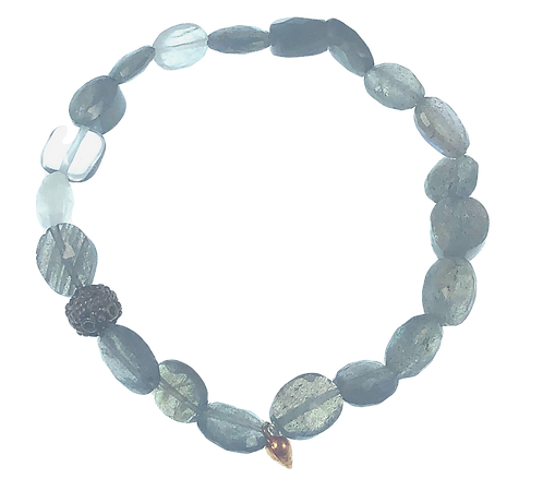 Gemstone Stretchy Bracelet