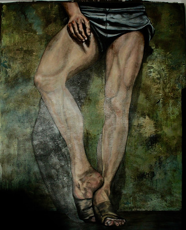 Study of a male dancer