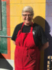 Shannon Stead the owner of  Shanzee's Biscuit Cafe