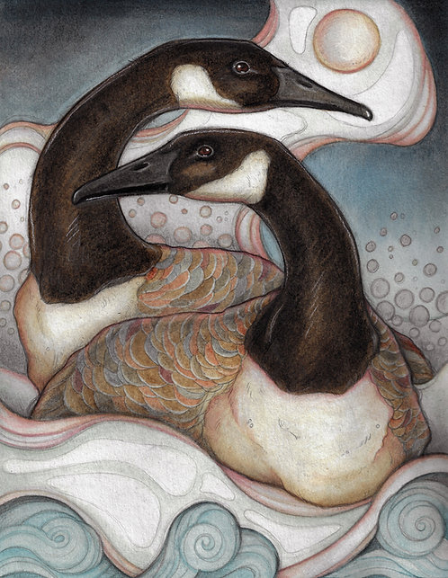 Canadian Geese Lisa Ferguson Designs
