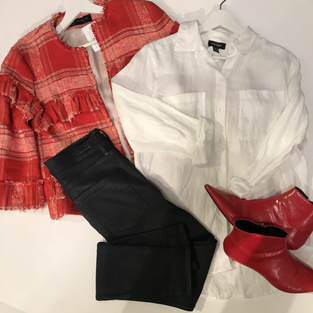 Outfit flat lays by MONA.heic