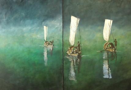 2 panel painting