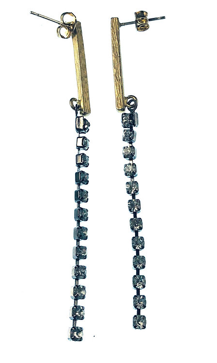 Swarovski Chain Earrings