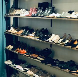 MONA's Shoe Wall