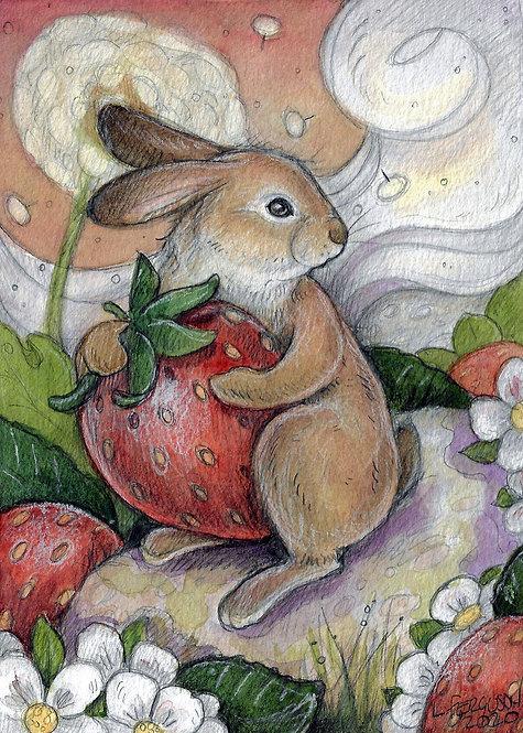 Strawberry Love Lisa Ferguson Designs