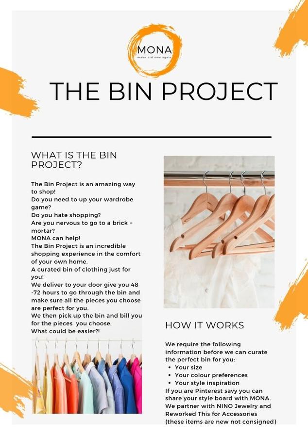 BIN Project by MONA