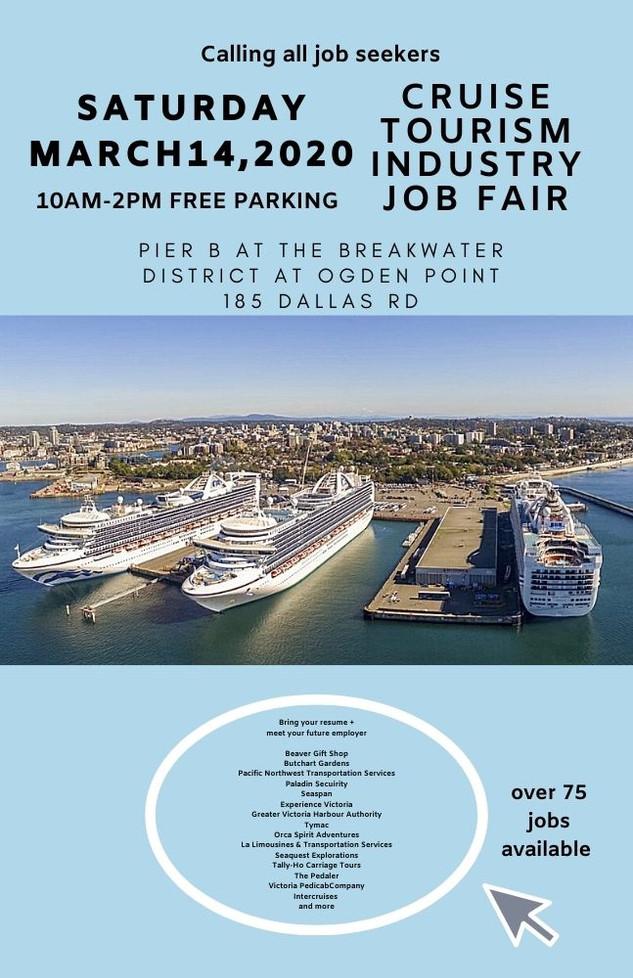 Victoria Cruise Industry Alliance Job Fair