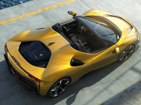 Ferrari SF90 zhadzuje strechu