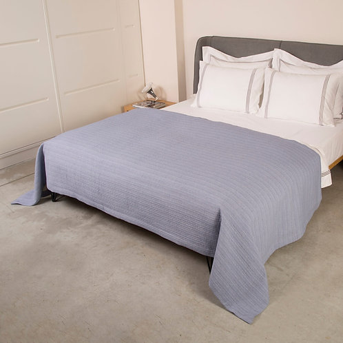 כיסוי מיטה pekin stitch