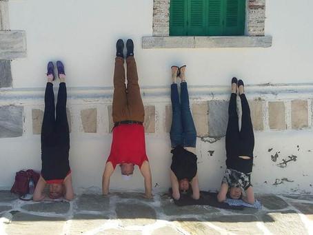 YogaRetreat, Paros island, Greece, April 2016