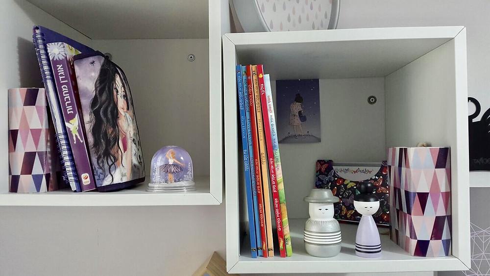 חדר ילדים מעוצב  בגוון סגול לילך חלומי