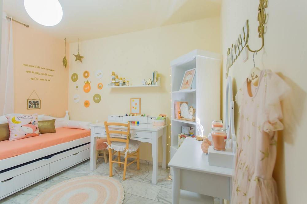 חדר ילדים מעוצב תוך 48 שעות