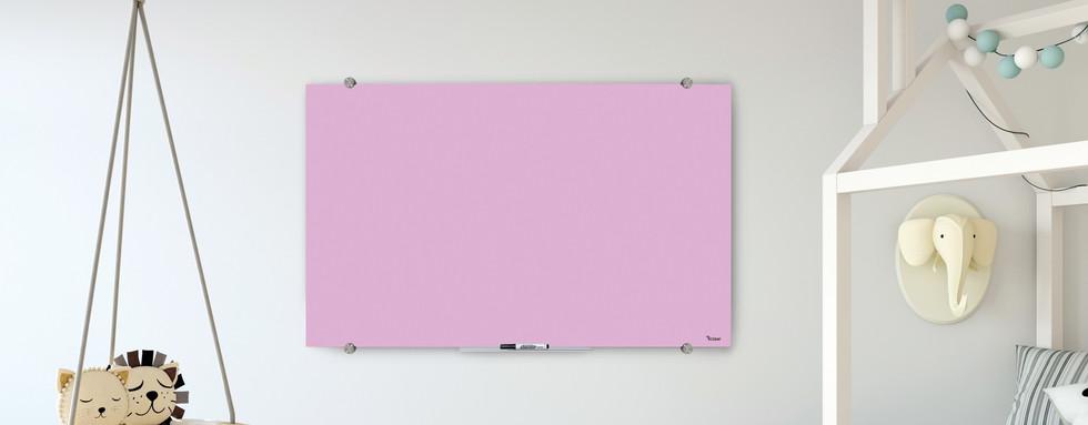 לוח מחיק מגנטי מזכוכית לחדר ילדים לחדר ישיבות