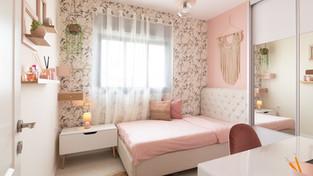 חדר מעוצב לנערה