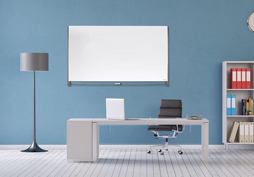 לוח מחיק מזכוכית לוח מגנטי למשרד או לבית של המותג ביקליר