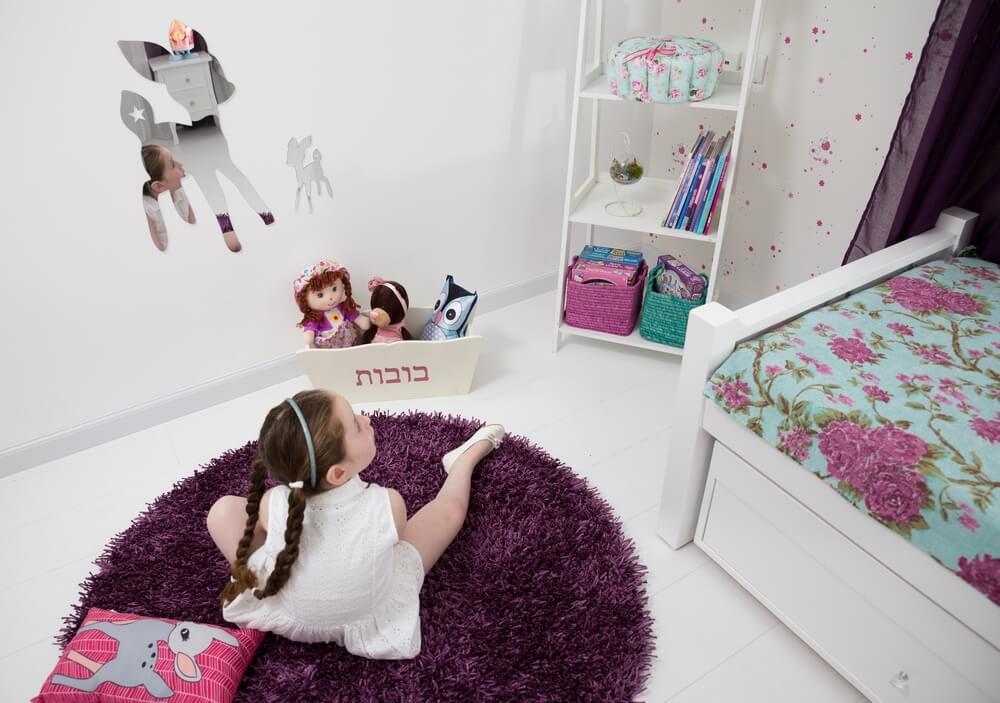 חדר ילדים מעוצב בקונספט ינשופים ובמבים