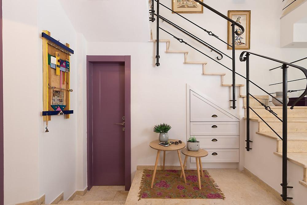 תכנון ועיצוב בית כפרי וצבעוני