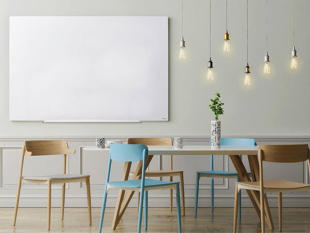 לוח מחיק לוח מגנט לחדר ישיבות לוח זכוכית מעוצב של ביקליר Bclear