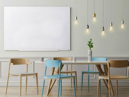יתרונות עיצוביים עם לוח זכוכית מחיק מגנטי מבית Bclear