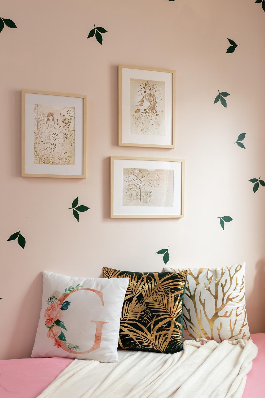 עיצוב חדר לילדה בסגנון רומנטי