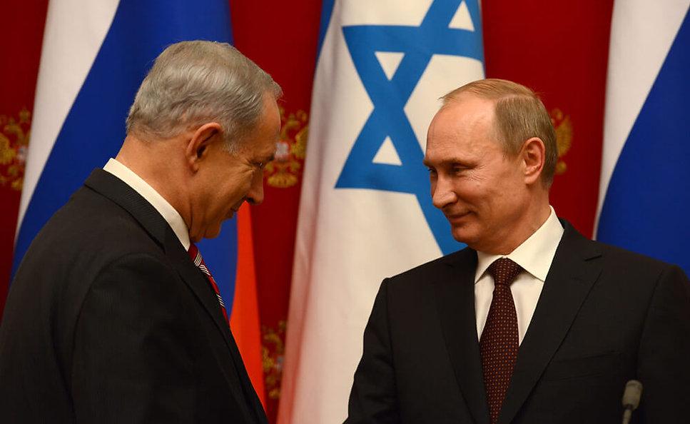 פוטין ונתניהו במוסקבה, ב-2013
