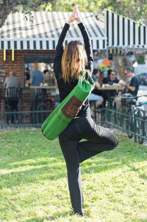 Green Yoga Mat Bag