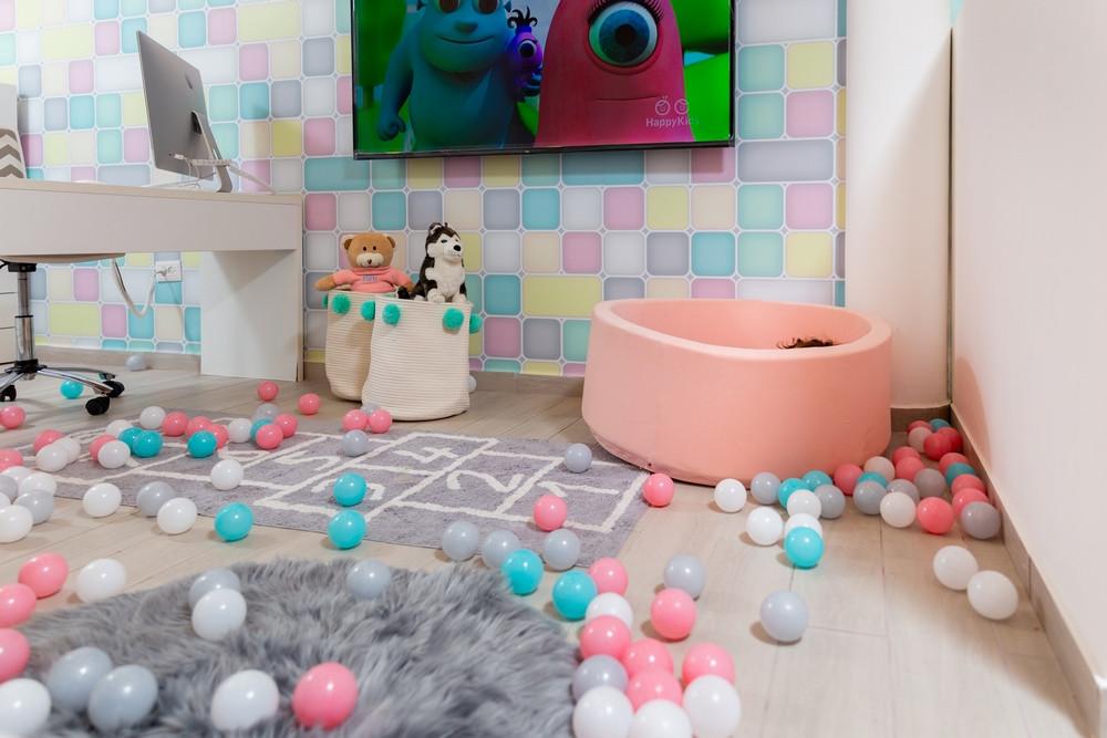 חדר משחקים משפחתי