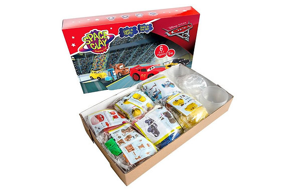 Clay Set - Cars