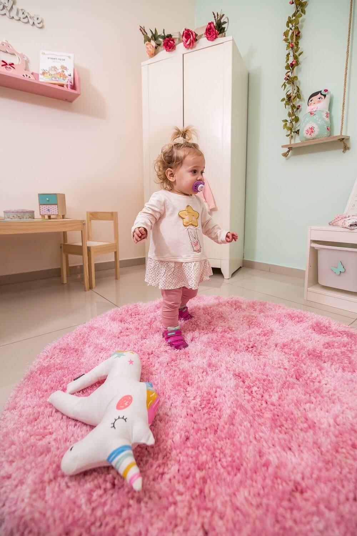 חדר ילדים מעוצב בקונספט חד קרן