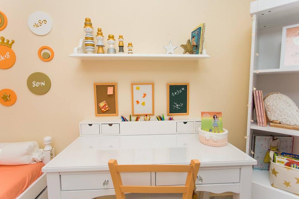 חדר ילדים מעוצב המשמש לאירוח אצל סבתא