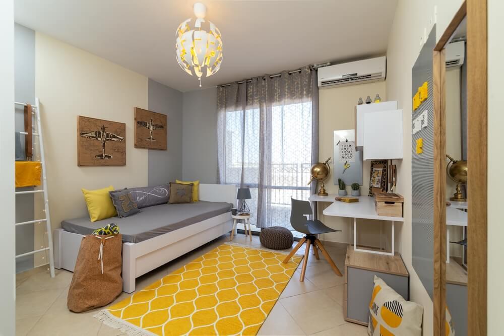 עיצוב חדר ילדים בקונספט לגו