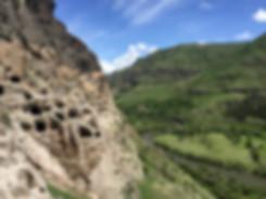 העיירה בורג'ומי ומערות ורדזיה
