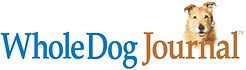 Whole Dog Journal and dog