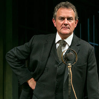 AN ENEMY OF THE PEOPLE by Ibsen ; In Rehearsal ; Directed by Howard Davies ; Hugh Bonneville (as Dr Tomas Stockmann) ; Chichester Festival Theatre, Chichester, UK ; 29 April 2016 ; Credit: Pete Jones