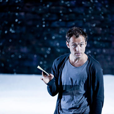 HAMLET by Shakespeare ; Jude Law (as Hamlet) ; A Donmar Warehouse production ; at Wyndham's Theatre, London, UK ; New production ; 03 June 2009 ; Credit : Mark Ellidge