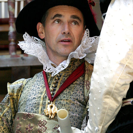 MEASURE FOR MEASURE by Shakespeare ; Mark Rylance as Vincentio ; Written by WIlliam Shakespeare ; Directed by John Dove ; Costumes by Jenny Tiramini : at the Globe Theatre, London, UK ; 2004 ; Credit: Sheila Burnett