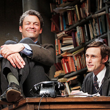 BUTLEY by Gray ; DOMINIC WEST (BEN BUTLEY) AND MARTIN HUTSON (JOSEPH KEYSTON)  ; at the Duchess Theatre, London, UK ; June 2011 ; Credit: Marilyn Kingwill