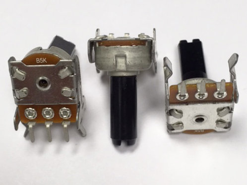 P120 12mm conductive plastic potentiometer