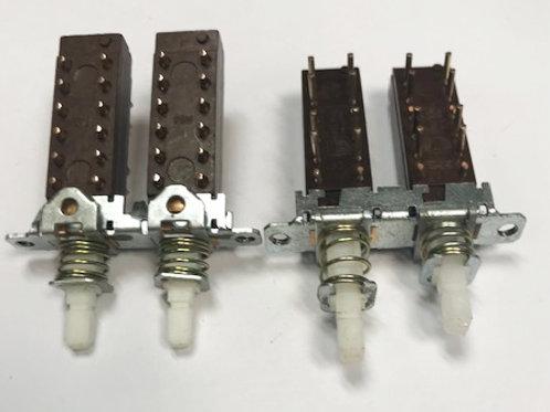 ISOSTAT 4PDT PCB Push Switch