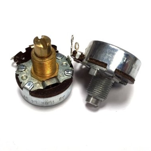 Series 45 Carbon Track Potentiometer Metal Shaft