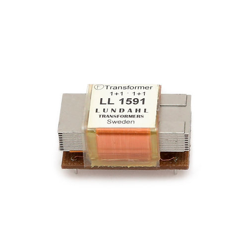 LL1591 Low cost audio isolation transformer
