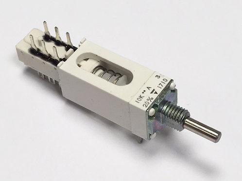 Vishay P11 10K Linear pot with push switch