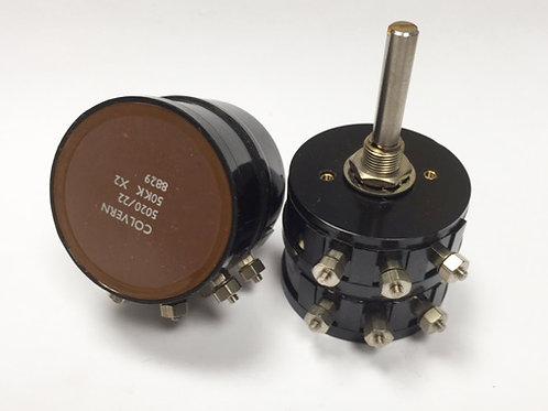 Colvern CLR5020 Series Dual Gang Potentiometer
