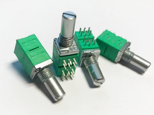 P094N-EC15BR10K 10K Linear 4 gang 9mm Potentiometer