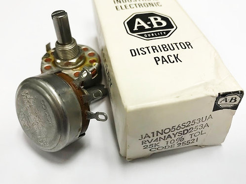 AB 25K Linear 10% potentiometer