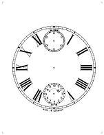 German Musical Clock