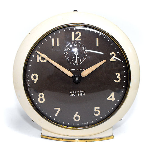 Original Style 6 Westclox Big Ben Chime Alarm