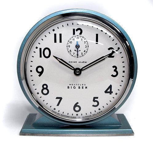 1936 Westclox Chime Alarm Clock