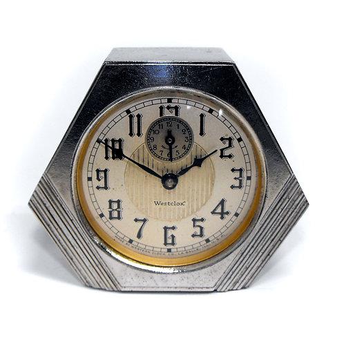 1930 Westclox Dura Alarm Clock